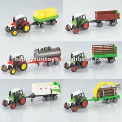 Super Selling Die cast Metal Farmer Tractor Models V01518