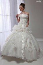 (A6582) Guangzhou Stephanie 2012 Sophisticated Modern Bride Wedding Gown