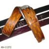 Elastic Men Belt Leather
