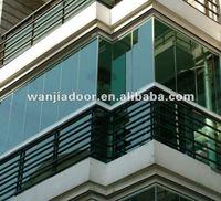 Aluminum balcony sunroom