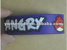 carton silicon rubber wrist band/bracelet