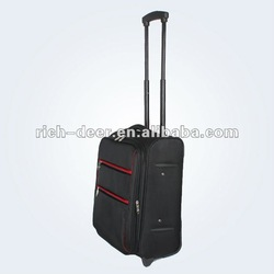 Aluminum travel case with newly fashionable design