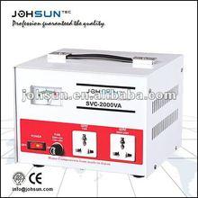 110/220VA Desk Type SVC-2000VA Full Automatic Servo Motor Voltage Regulator/Stabilizer