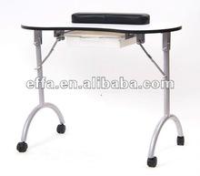 Portable Foldable Manicure Nail Table Technician Desk Workstation with Bag & Wrist Rest