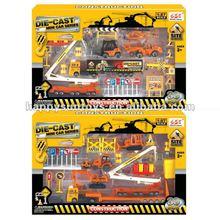 1:87 Diecast Alloy Metal Construction Trucks Series V01538