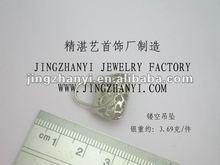 2012 fashion silver bag resin pendant