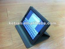 New for iPad 3 foled leather case
