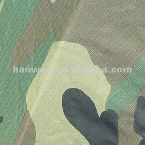 waterproof Ripstop Camouflage Fabric