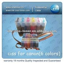 CISS PGI-125BK CLI-126BK/C/M/Y/GY for Canon PIXMA IP4810/MG6110