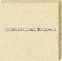 Pure beige quartz stone ND1003