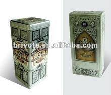 Customize paper wine box 2012