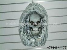 Halloween sound-control stone ghost decoration/Halloween decoration