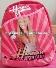 fashion pink school bag/backpack