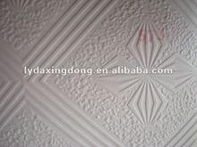 60x60 PVC gypsum ceiling tiles/boards