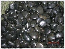 black river rocks and stones