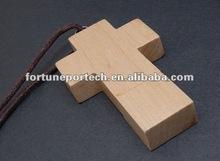 Cross shape necklace usb pen drive