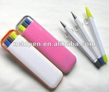 Ofice school stationery pen set 3 in 1