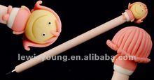 Chrismas series polymer clay ballpoint pen