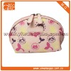 Cute fashion small printing ziplock colourful toiletry makeup bag