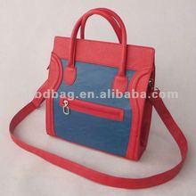 2012 fashion handbag / ladies PU handbag / leather ladies tote