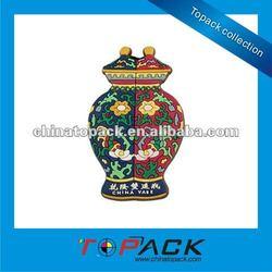 OEM Souvenir Chinese Antique 3D Soft PVC Fridge Magnet(TP-FM578)