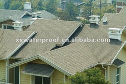 bitumen colored asphalt shingle roofing