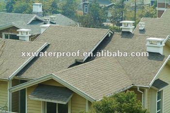 bitumen colored asphalt shingle roofing