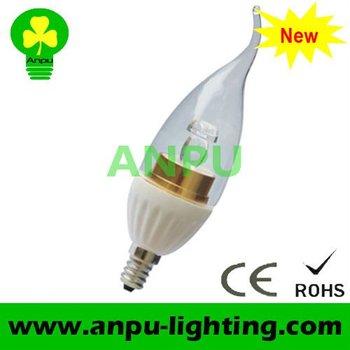 APBL87 3w led crystal light frame