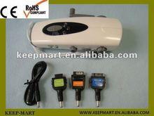hand winding/cranking dynamo/generator flashlight with AM/FM radio for Japanese market