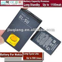 3.7v Standard BL-5U Battery For Nokia Mobile Phone 2660C 5310 5310XM 5900XM 7210C 7310C 8900 8900E C5-03
