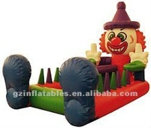 {Qi Ling} Newest!!! clown inflatable floating ball game,inflatable floating ball race