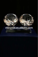 Crystal Islamic Diamond on Stand , diamond with Allah and Mohammad's name