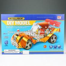 2012 New Kids Metal Building Block f1 Car Models L09969