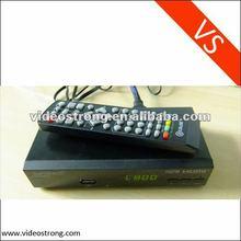 2012 Digital TV tuner Scart DVB-T2 for Europe