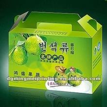 2012 Fresh fruit packing box
