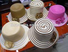 Fashion decoration straw hat