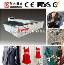 Wedding Dress/Cloth Dress Cutting Machine Laser