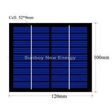 9V 150mA Mini Solar Module 120*100mm