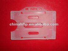 Vertical&Horizontal clear plastic badge id card pocket holder