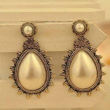 2012 vintage fashion pearl earring (JE04271)