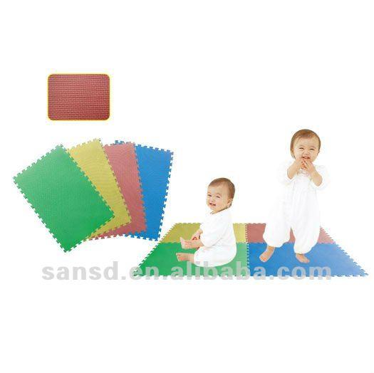 Non toxique b b tapis de ramper eva tapis de jeu tapis - Produit bebe non toxique ...