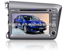 Two Din Car DVD Player Special for HONDA CIVIC 2012