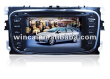 Hot sell Two Din Car DVD Player Special for FORD Focus09\Mondeo\S-MAX