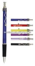 OEM AL-07 TRANSPARENT TWIST CLIP ballpoint pen