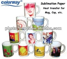 sublimated printing / sublimation transfer paper / rolls size A4 size