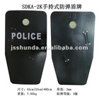 bulletproof shield with handle