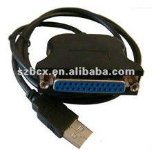 USB to Parallel Port DB25 25 Pin Printer Adapter Cable