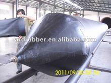 Pneumatic ship rubber airbags for ship launching