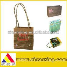 2012 paper shopping bag,paper sack,luxury paper bag