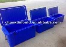 plastic cooler mould, plastic fishing box, plastic ice box